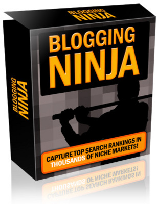 Product picture Blogging Ninja with Master Resale Rights